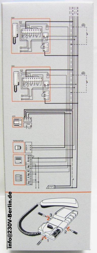von SEKO Sprint600 auf Siedle HTA 811-0 und ERT?