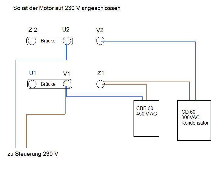 Nett Anschluss Des 3 Phasen Motors Galerie - Der Schaltplan ...