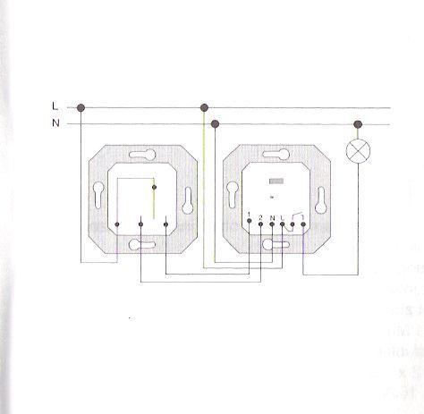 schaltbild bewegungsmelder mit schalter wiring diagram. Black Bedroom Furniture Sets. Home Design Ideas