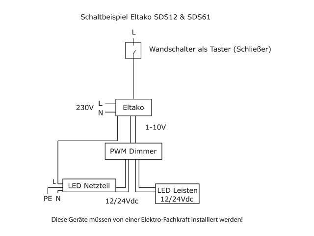 Einfache 4-Kanal Lichtsteuerung - Taster und Fernbedienung