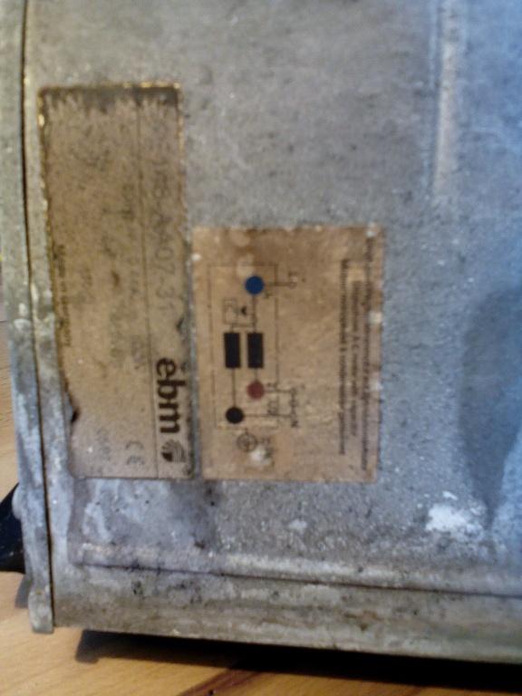 Einphasen Wechselstrommotor mit Betriebskondensator