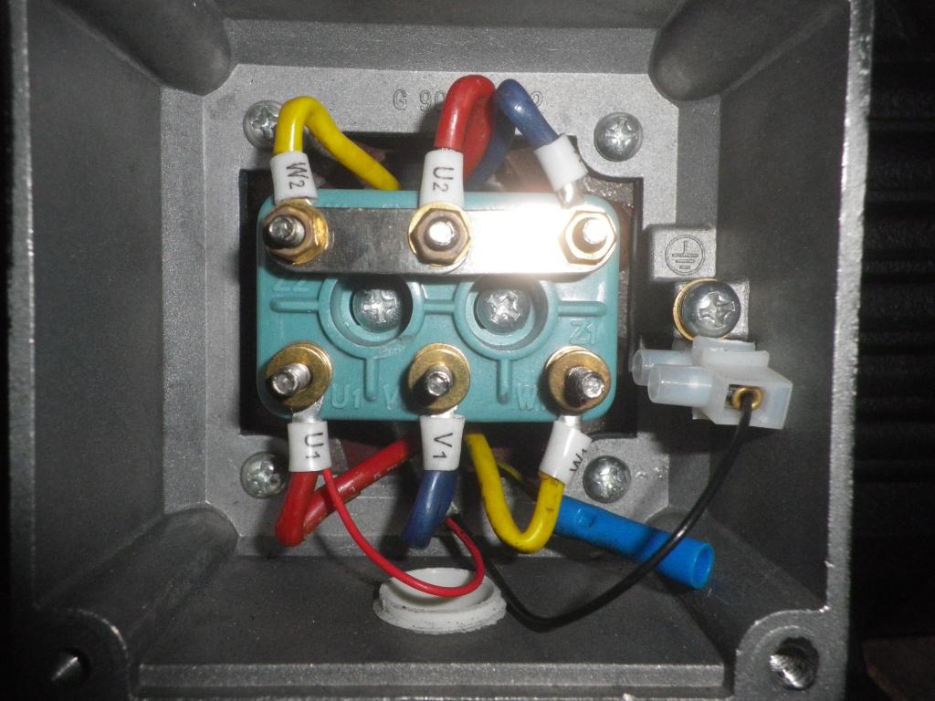 Hilfe beim Anschluss von einem KRN 100 LX-4, 7,5KW Motor
