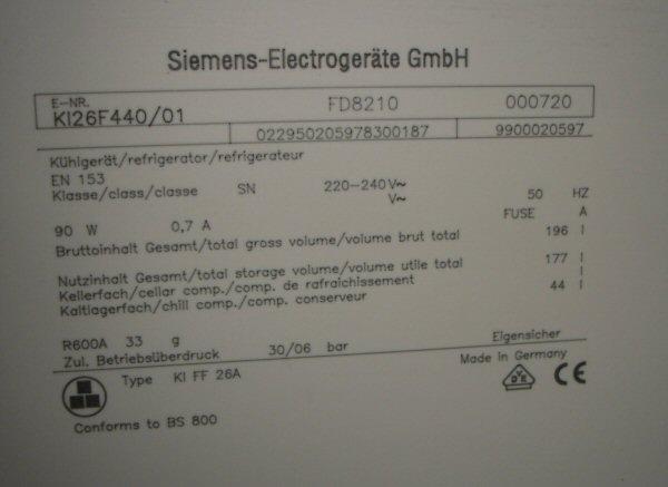 Amerikanischer Kühlschrank Kühlt Nicht Mehr : Siemens kühlschrank ki f kühlt nicht mehr