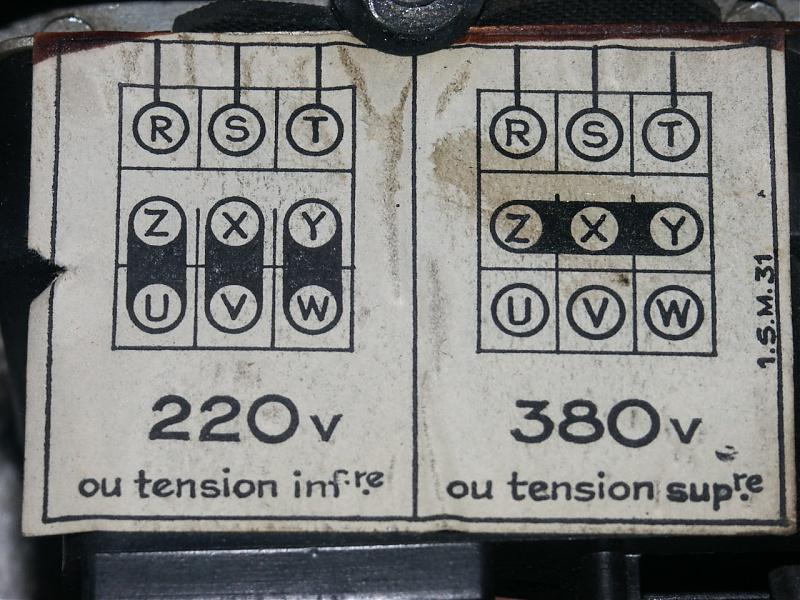 Motor auf 220V anschliesen!Wie?