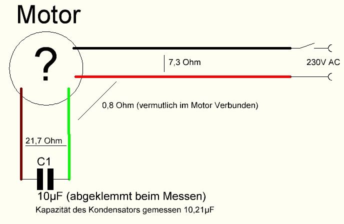 Einphasenmotor hat keine kraft mehr | Seite 2