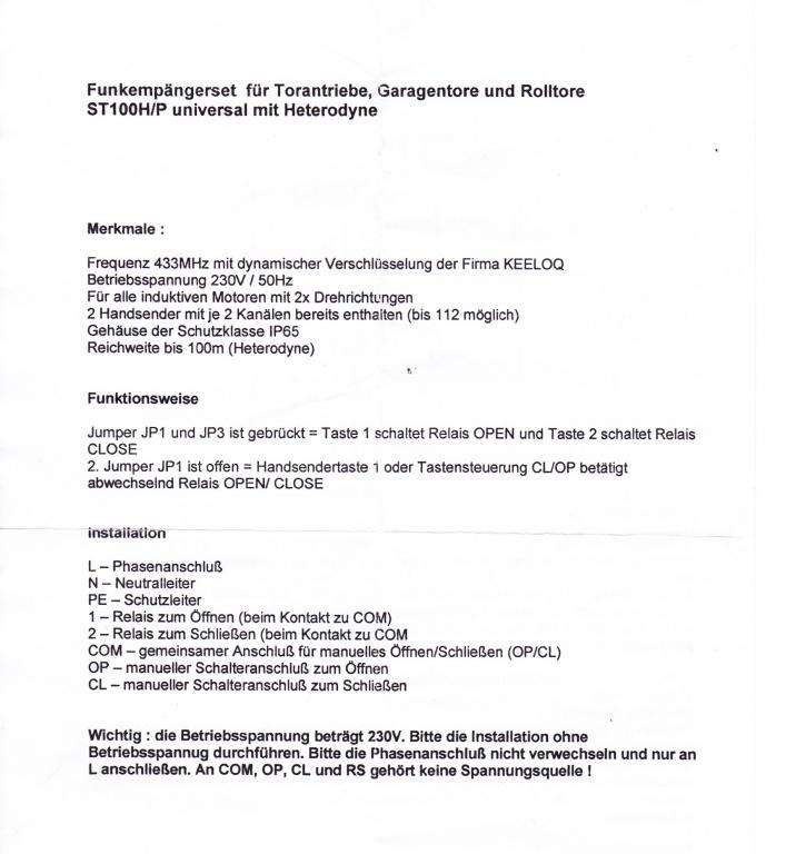 Tolle Raynor Garagentor Schaltplan Galerie - Elektrische ...