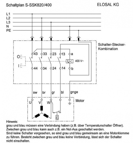 Drehstrommotor; Wicklung prüfen (seltsam)