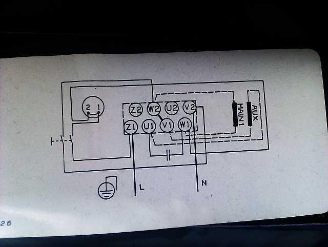 1P Motor Pumpe Grundfos