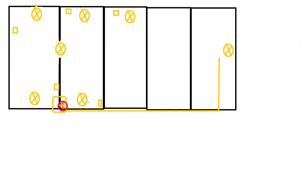 Favorit Holz/Werkstatt neue einrichten Elektroinstallation CX19