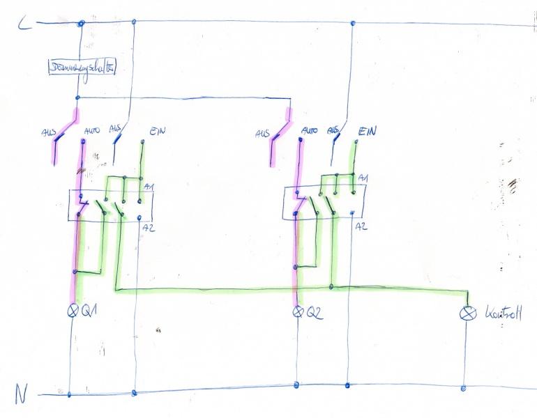Hilfe für Schaltung Gartenbeleuchtung | Seite 2
