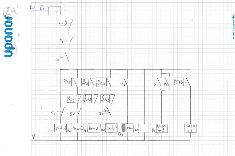 Automatisierte Schaltung (Stromlaufplan)