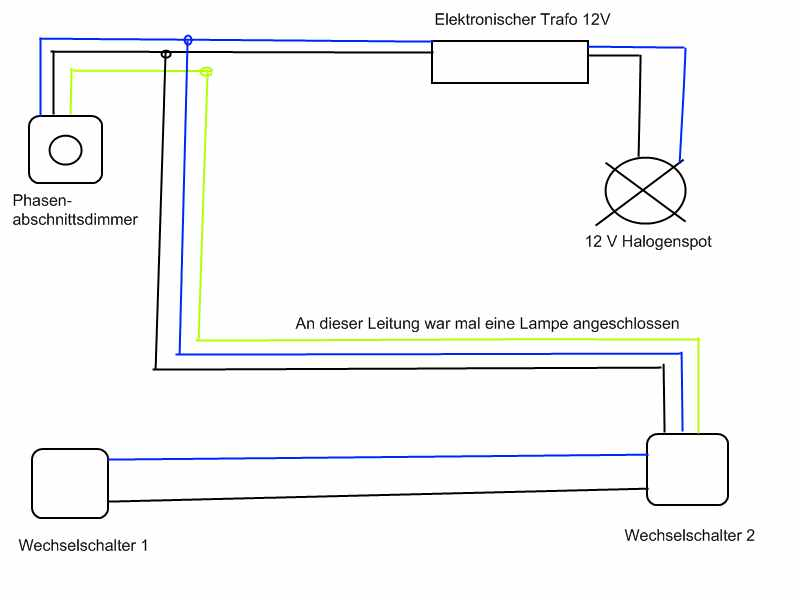 Atemberaubend Lichtdimmer Schaltplan Zeitgenössisch - Der Schaltplan ...