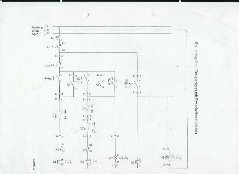 Tolle Genie Garagentor Sensor Schaltplan Ideen - Elektrische ...