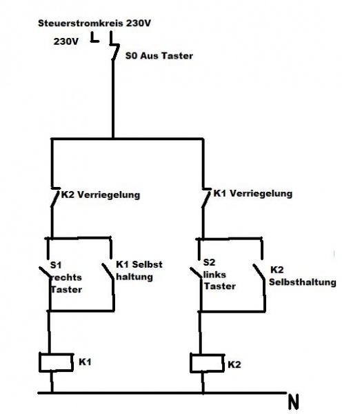 DC-Motor-Steuerung Hochregal