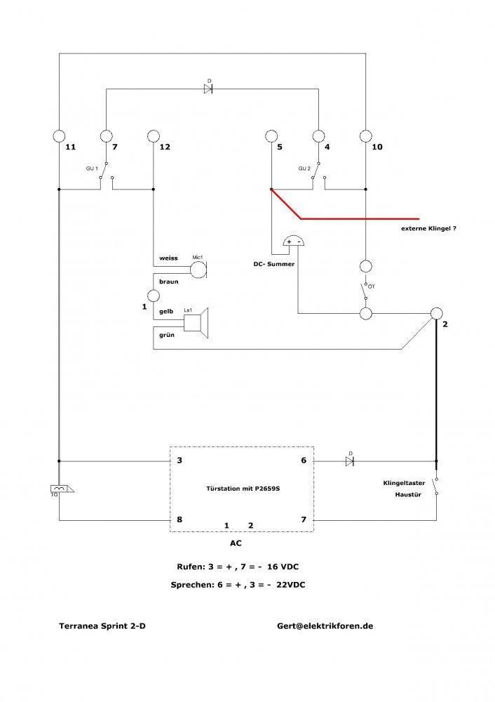Nett Klingelschaltplan 3 Zeitgenössisch - Elektrische ...