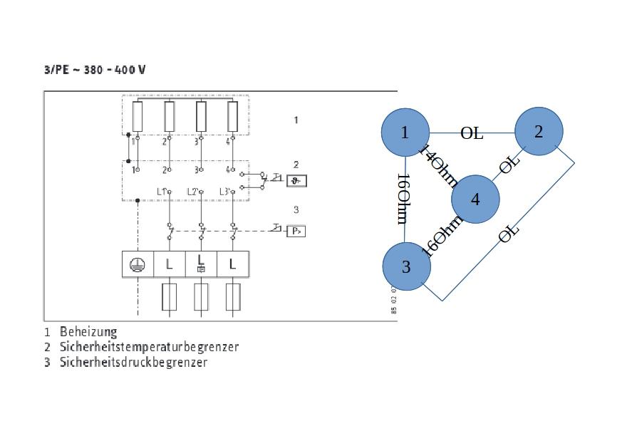 Fantastisch Typisches Schaltbild Heißes Wasser Ideen - Elektrische ...