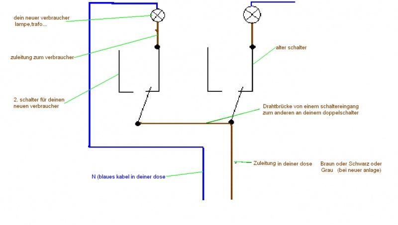 Ausgezeichnet Schaltplan Doppel Lichtschalter Fotos - Schaltplan ...