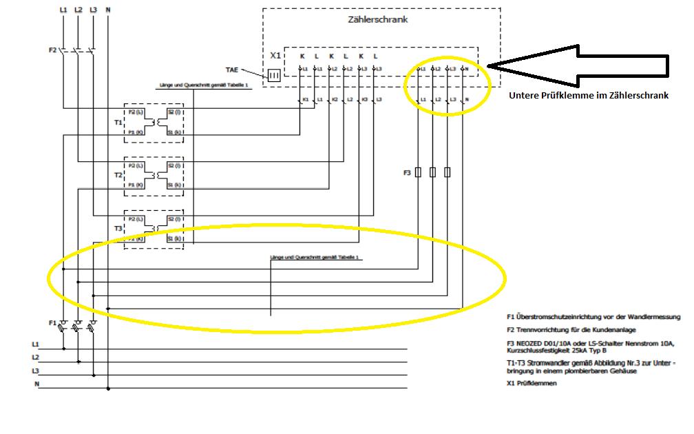 Tolle Stromzählerkasten Schaltplan Bilder - Elektrische Schaltplan ...