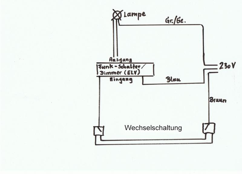 wechselschaltung uber funk wiring diagram. Black Bedroom Furniture Sets. Home Design Ideas